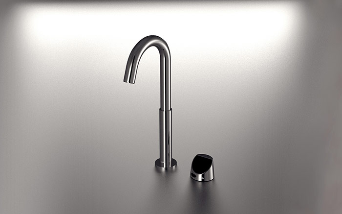 MCPF13 Chrome Faucet With Control Panel