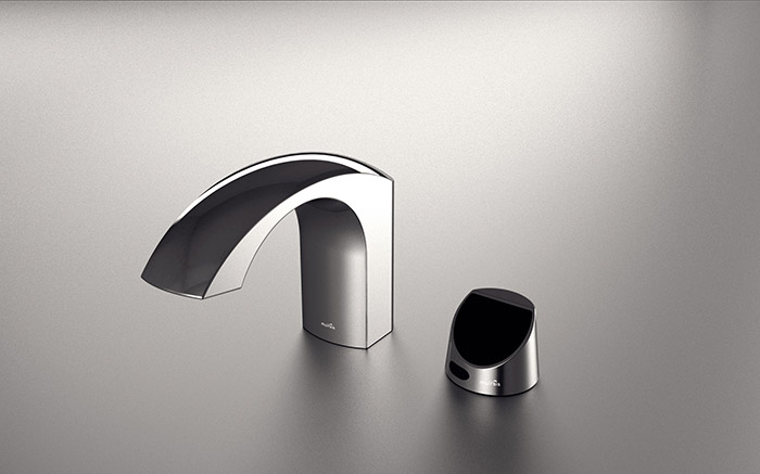 MCPF5 Chrome Faucet With Control Panel